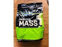 Optimum Nutrition Serious Mass 5.4kg vanilla