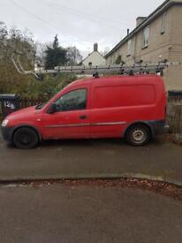 Vauxhall combo van, red, spares repair, MOT