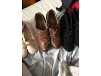 3 pairs of shoes size 5