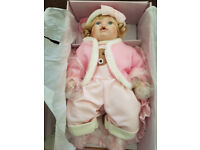 leonardo collectoin porcelain baby doll