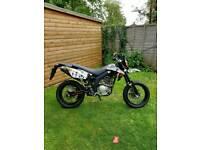 AJS JSM 125cc 4 stroke motorbike 2014
