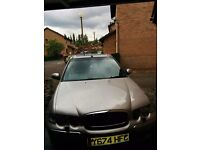 Rover 45 Automatic Petrol Silver Saloon Open Roof with New Tyres and NEW MOT from 24th April