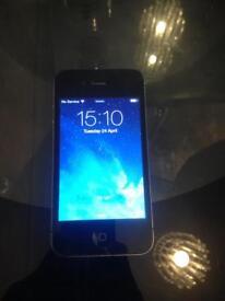 Black I phone 4