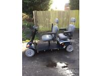 TWO SEATER MOBILITY SCOOTERS