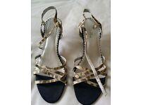 Wedding shoes and handbag