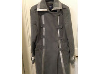 Beautiful GAP Coat Military Style, Size 14, Velvet Details PRICE LOWERED