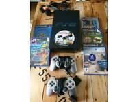 Sony PlayStation 2 plus games
