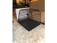 Dog cage for estate car