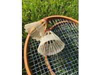 Vintage Garden Badminton Set by A.W. Gamage Ltd, Holborn London.