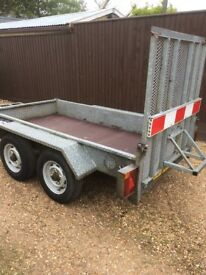 Mini digger/ Dumper Plant trailer for sale year 2000