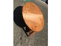 Ikea Solid Wood Oval Coffee Table