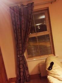 2 pairs of great quality curtains 230 x 230