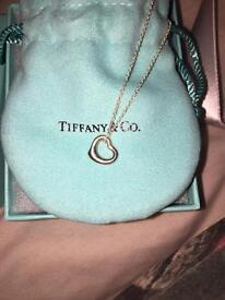 TIFFANY & CO OPEN HEART PENDANT **BRAND NEW IN BOX**