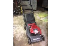 Mountfield 21 inch lawnmower collect or mulch