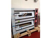 "Double Pizza Oven 8x13"" Electric / Pizza Shop / Restaurant /"