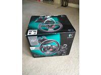 Logitech driving force GT steering wheel PS3/PC