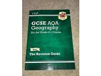 GCSE AQA GEOGRAPHY CGP REVISION GUIDE