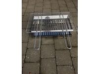Brand New Bushbeck BBQ Stainless Steel Fire Grate, Ash Pan and Heavy Duty Chrome Cooking Grill