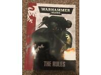 Warhammer 40,000 (40k) rule book (7th edition)