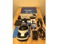 Playstation VR plus PS4 camera plus 2x Playstation Move Controller, perfect condition