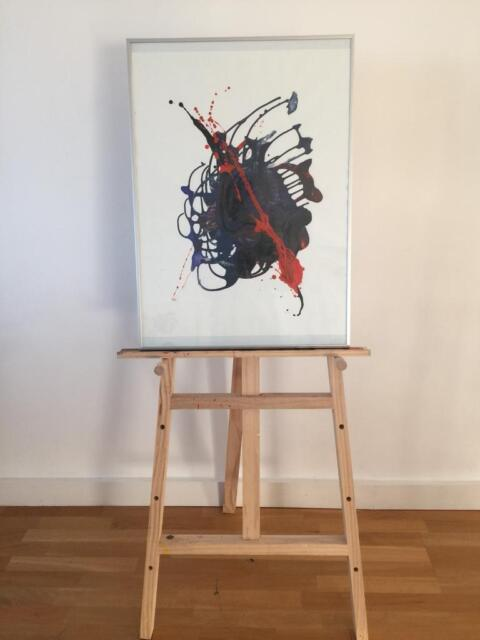 Abstract Painting Hand Made By An Spanish Artist In Trafford Manchester Gumtree