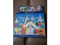 The Snowman Raymond Briggs A Magical Magnetic Play Scene Book