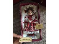 Antique house of Valentina doll