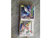 Mario kart 7 and star fox 3ds