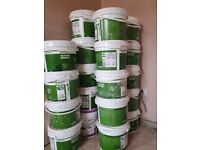 24 Tubs White Silicone Render unopened