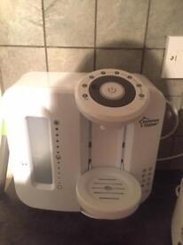 Baby's prep machine