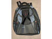 Large Wenger Backpack - With laptop compartment.