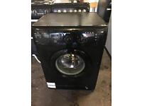 Black washing machine 7kg