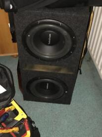 Double sub and amp