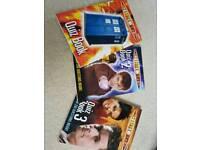 Dr Who quiz books