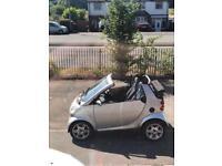 Smart car passion, convertible