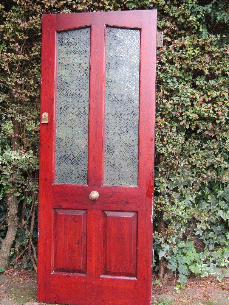 external wooden glazed door