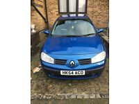 Blue Renault Megane Dynamic 1.6 Automatic