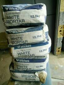 White mortar