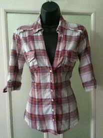 Jane Norman Shirt Size 12 Excellent Condition
