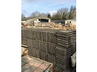Reclaimed Stonewold Concrete Tiles, Mark 2...Other Reclaimed Building Materials...