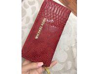 red michael kors purse new