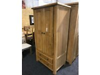 Solid OAK -exDisplay wardrobe
