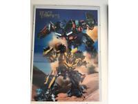 Transformers Revenge of the Fallen 3D poster. Comes with frameless frame.
