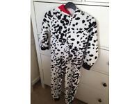 Next 6yrs fleece onesie with hood