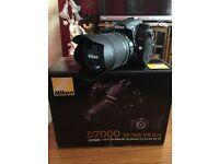 Nikon D7000 Camera with AF-S 18-105mm f/3.5-5.6 DX Lens