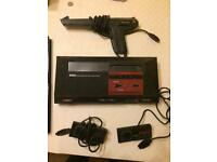 Sega Master System (1st Gen) with games and lightphaser