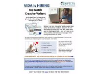 Part-Time Creative Writer Needed to Ghostwrite Online Dating Profiles (Telecommute)