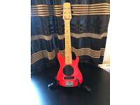 Electric guitar Bur& wood