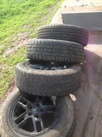 Landrover wheels and tyres 235/70x17