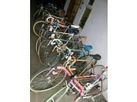 Road Bikes Vintage Steel Bikes